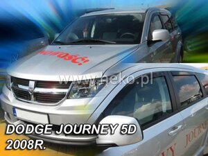 Deflektory okien DODGE JOURNEY 5D 2008R.→