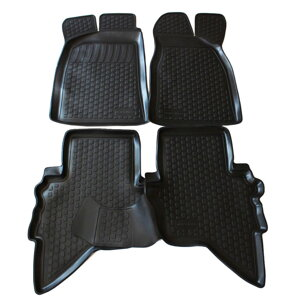 Gumové autokoberce do auta LOCKER Ford Ranger r. 2006-2012