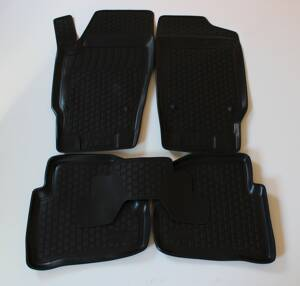 Gumové autokoberce do auta LOCKER SEAT Ibiza IV 2008 -