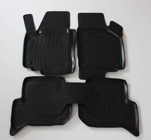 Gumové autokoberce do auta LOCKER Seat Leon II 2005-2012