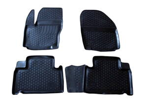 Gumové autokoberce do auta LOCKER Ford Galaxy II od r.2006-