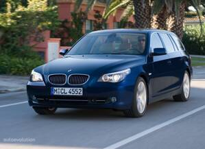 Gumová vanička do kufra zn RIGUM - BMW 5 Touring od r.:2010-